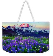 Nature Landscape Graphics Weekender Tote Bag