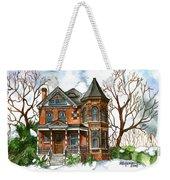 Victorian Winter Weekender Tote Bag