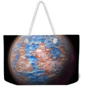 Abstract Planet Weekender Tote Bag