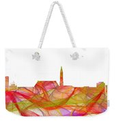 Cheyenne Wyoming Skyline Weekender Tote Bag