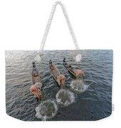 Fisherman Inle Lake - Myanmar Weekender Tote Bag