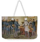 Lees Surrender 1865 Weekender Tote Bag