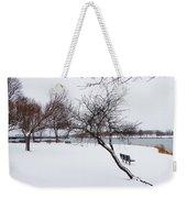 Obear Park In Winter Weekender Tote Bag