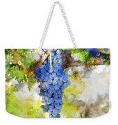 Red Grapes On The Vine Weekender Tote Bag