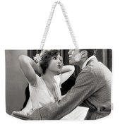 Silent Film Still: Couples Weekender Tote Bag by Granger