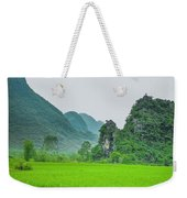 The Beautiful Karst Rural Scenery Weekender Tote Bag