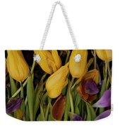 Tulips Wilting Weekender Tote Bag
