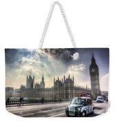 Westminster Bridge London Weekender Tote Bag