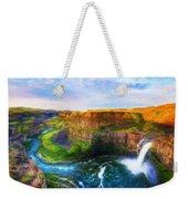 Nature Cool Landscape Weekender Tote Bag