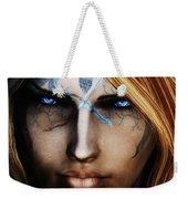 120941 The Elder Scrolls V Skyrim Wizard Blue Eyes Weekender Tote Bag