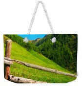 Nature Landscape Art Weekender Tote Bag