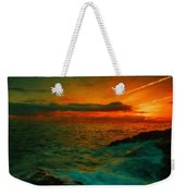 Nature Landscape Oil Painting For Sale Weekender Tote Bag
