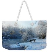Nature Landscape Oil Painting On Canvas Weekender Tote Bag