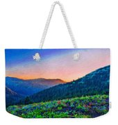 Nature Oil Canvas Landscape Weekender Tote Bag