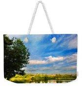 Nature Landscape Painting Weekender Tote Bag