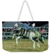 Bronco Riding Weekender Tote Bag