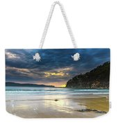 Cloudy Sunrise Seascape Weekender Tote Bag