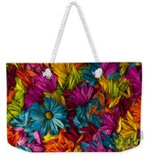 Daisy Petals Abstracts Weekender Tote Bag
