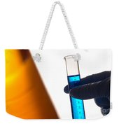 Equipment In Science Research Lab Weekender Tote Bag