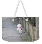 My Small Dog Weekender Tote Bag