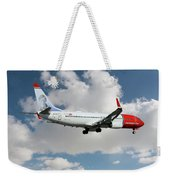 Norwegian Boeing 737-8jp Weekender Tote Bag