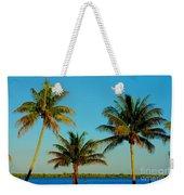 13- Palms In Paradise Weekender Tote Bag