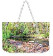 Pennsylvania Stream In Autumn Weekender Tote Bag