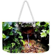 Public Fountain In Palma Majorca Spain Weekender Tote Bag