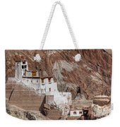 Ruins At Basgo Monastery Weekender Tote Bag