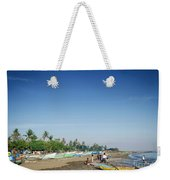 Traditional Fishing Boats On Dili Beach In East Timor Leste Weekender Tote Bag