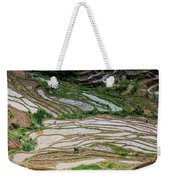 Longji Terraced Fields Scenery Weekender Tote Bag