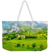 Nature Landscape Light Weekender Tote Bag