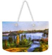 Nature Landscape Oil Painting For Sale Weekender Tote Bag