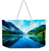 Nature Work Landscape Weekender Tote Bag