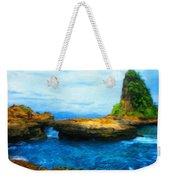 Landscape Painted Weekender Tote Bag