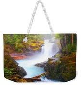 Landscape Oil Painting Nature Weekender Tote Bag