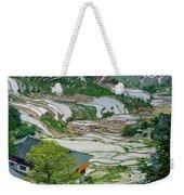 Longji Terraced Fields Scenery Weekender Tote Bag