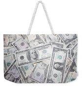American Banknotes Weekender Tote Bag