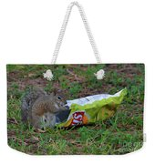14- Chip Lovin' Squirrel Weekender Tote Bag