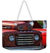 Classic Ford Pickup Weekender Tote Bag