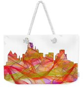 Dallas Texas Skyline Weekender Tote Bag