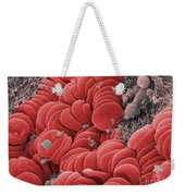 Human Red Blood Cells, Sem Weekender Tote Bag