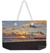14- Juno Beach Pier Weekender Tote Bag