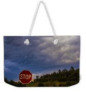 May Nebraska Storm Cells Weekender Tote Bag