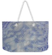 14. V1 Blue And White Splash Glaze Painting Weekender Tote Bag