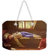 Wallis Henry The Death Of Chatterton Henry Wallis Weekender Tote Bag