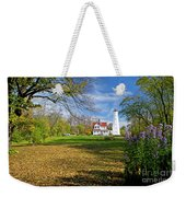 1406 North Point Lighthouse Weekender Tote Bag