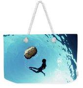 140908-2915 Weekender Tote Bag by Enric Gener