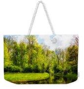 Nature Landscape Lighting Weekender Tote Bag