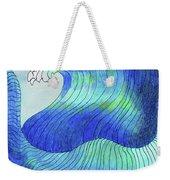 141 - Waves Weekender Tote Bag